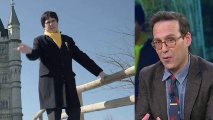 Ver para creer: la Policía acude a detener a Joaquín Reyes disfrazado de Puigdemont