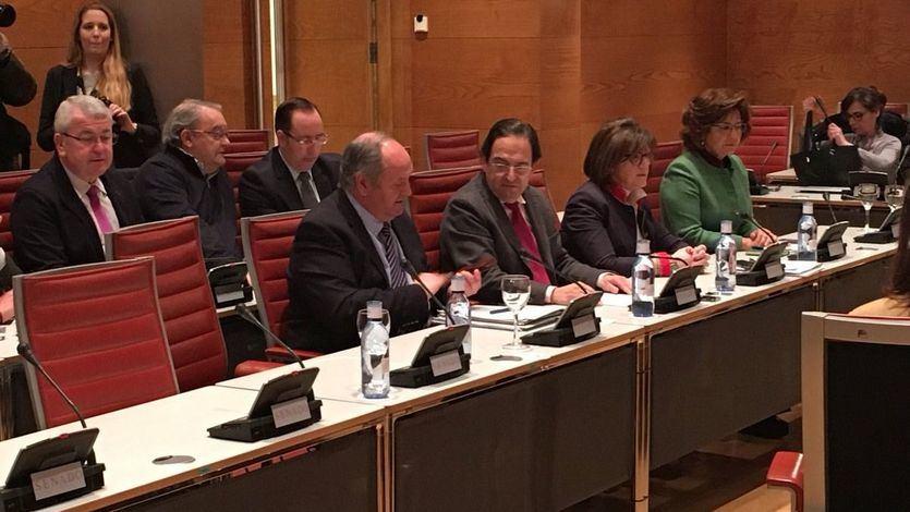 PP y Ciudadanos firman su divorcio acusándose a gritos en el Senado de irregularidades financieras