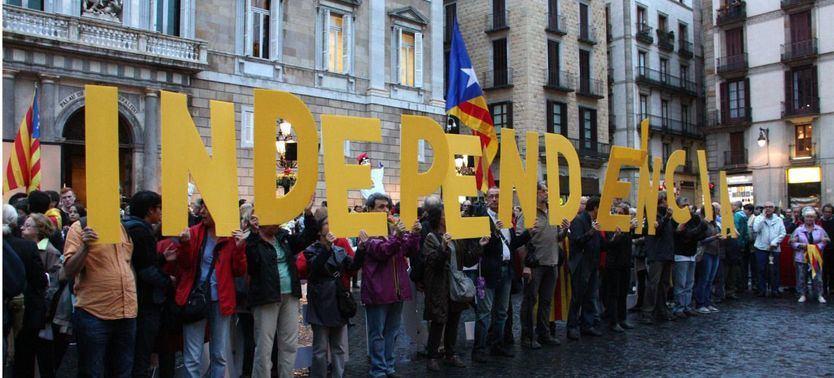 Se desploma el apoyo a la independencia en Cataluña, según el CIS catalán