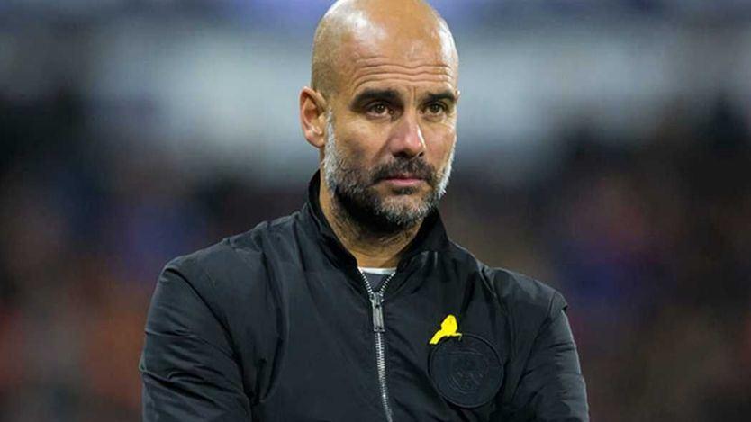 Guardiola, sancionado por la Federación Inglesa por llevar el lazo amarillo
