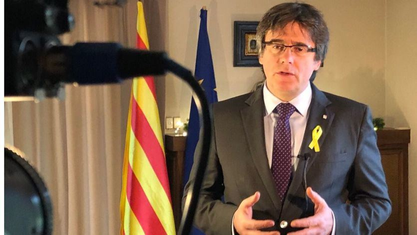 Puigdemont: 'El Rey será bienvenido a la República de Cataluña cuando pida perdón por su papel inconstitucional en octubre'