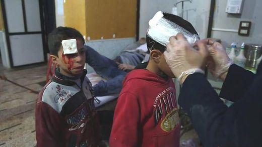 La ONU reclama un alto al fuego de 30 días en Siria