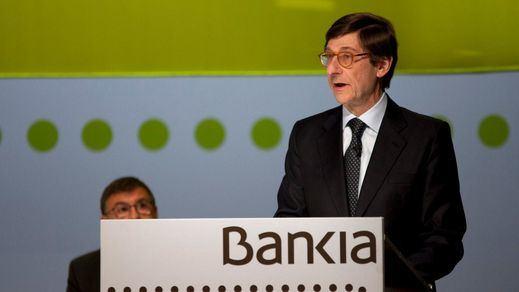 Bankia prevé repartir más de 2.500 millones entre sus accionistas en el próximo trienio, más del doble que en los últimos cuatro años