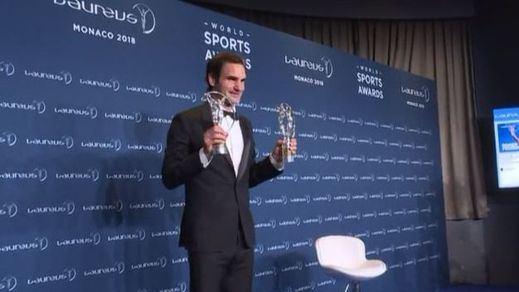 Roger Federer gana el Laureus al mejor deportista del año
