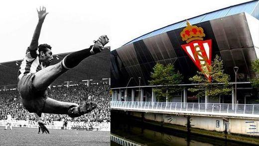 Gijón rinde homenaje a Quini 'rebautizando' el estadio 'El Molinón'