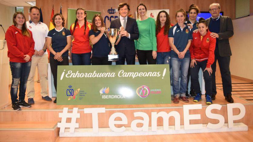 Selección femenina de rugby, Campeona de Europa