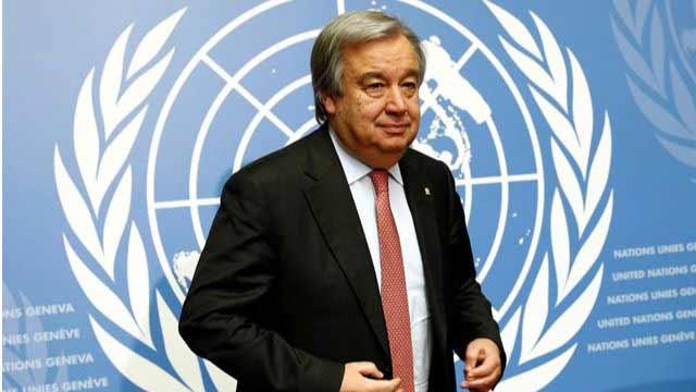 Antonio Guterres. Secretario General de la ONU