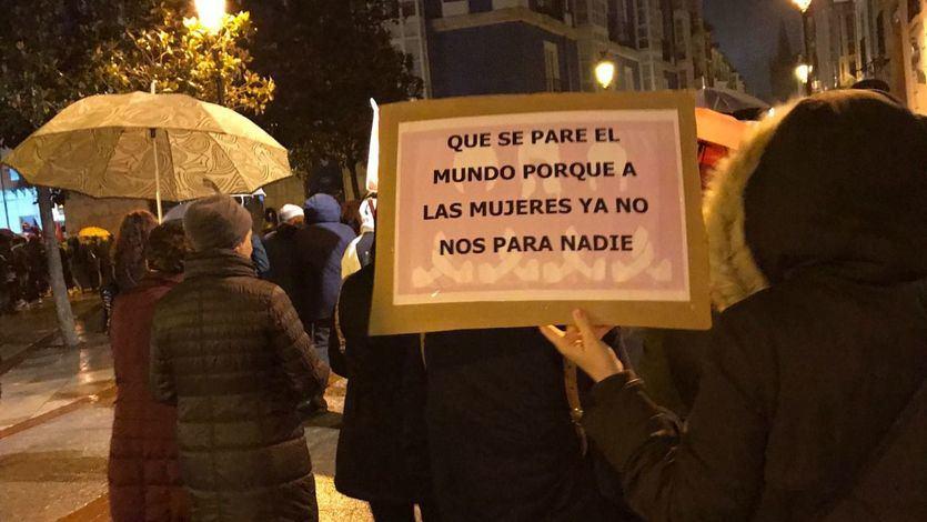 8-M en Burgos: 'Que se pare el mundo porque a las mujeres ya no hay quien nos pare'