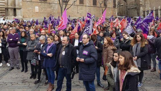 Manifestación feminista 8-M en Castilla-La Mancha