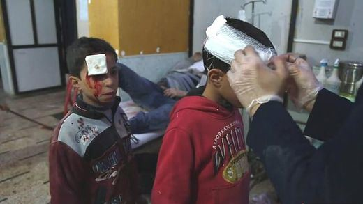 Las demoledoras cifras de la guerra en Siria: 2.000 niños han muerto entre 2017 y los dos primeros meses del año