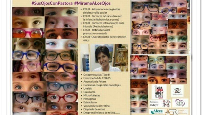 Padres de niños con enfermedades oftalmológicas graves recogen firmas para evitar el traslado de una especialista de La Paz