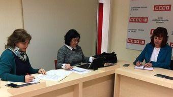CCOO insta a Page a 'negociar un acuerdo de recuperación de empleo y derechos' en la Junta