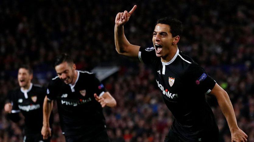 Gloria y honor para un gran Sevilla, que 60 años después se cuela en cuartos de la Copa de Europa (1-2)