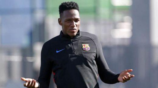 Yerry Mina, recién fichado por el Barça y ya está de sobra: tendrá que salir si llega Arthur
