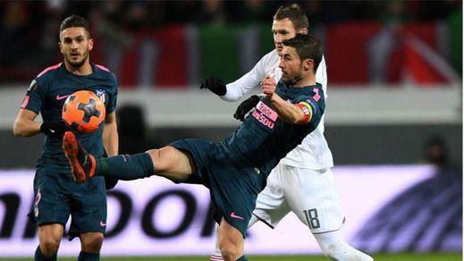Goleada y pase a cuartos: el Atleti arrolla al Lokomotiv en Moscú (1-5)