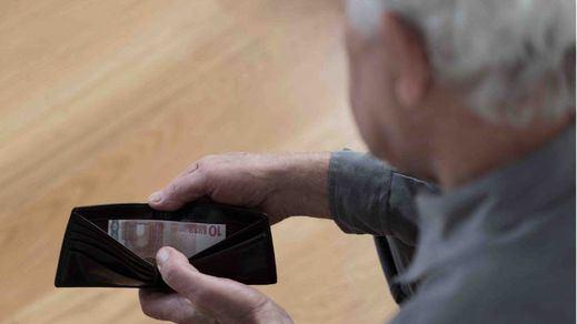 1 de cada 3 pensionistas cobra menos de 8.200 euros al año