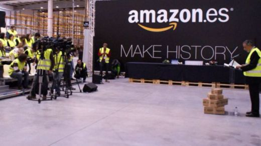 Los trabajadores de Amazon en España van a la huelga para denunciar sus condiciones laborales