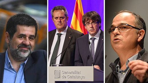 Los giros radicales en el caso de los presos catalanes: Forn quedará libre y Jordi Sànchez se retira