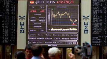 El Ibex cede un -0,52% arrastrado por el sector financiero
