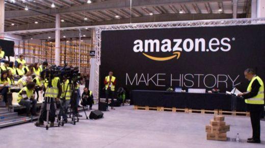 Segunda jornada de huelga en Amazon España con éxito de seguimiento