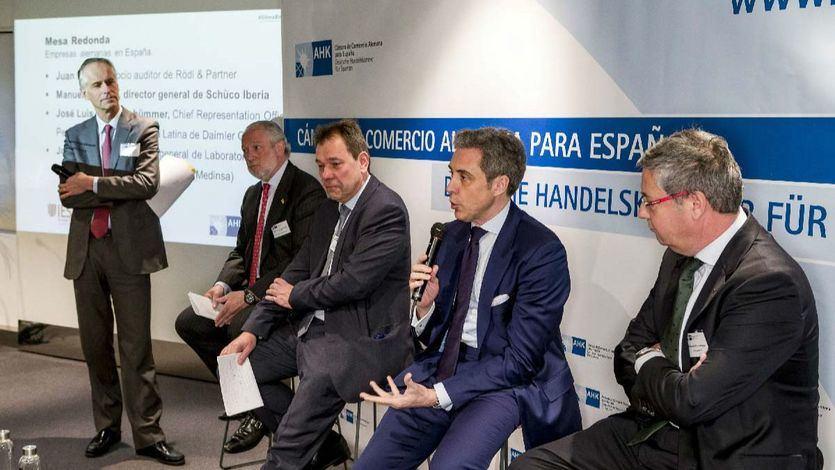 Walther Plettenberg, Jose Luis Lopez Schummer, Joachim Teubner, Juan Herrero y Manuel del Pino