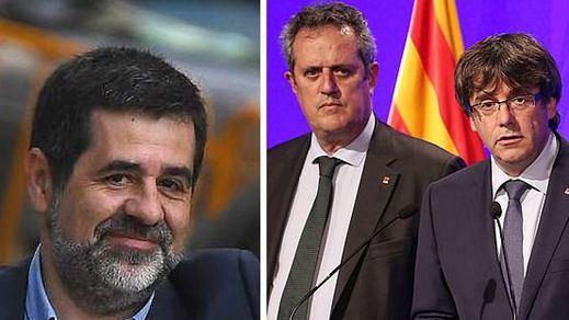 El Tribunal Supremo desoye al fiscal general y mantiene en prisión a Forn y Sánchez