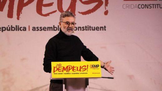 La CUP confirma su abstención en la votación de investidura de Jordi Turull