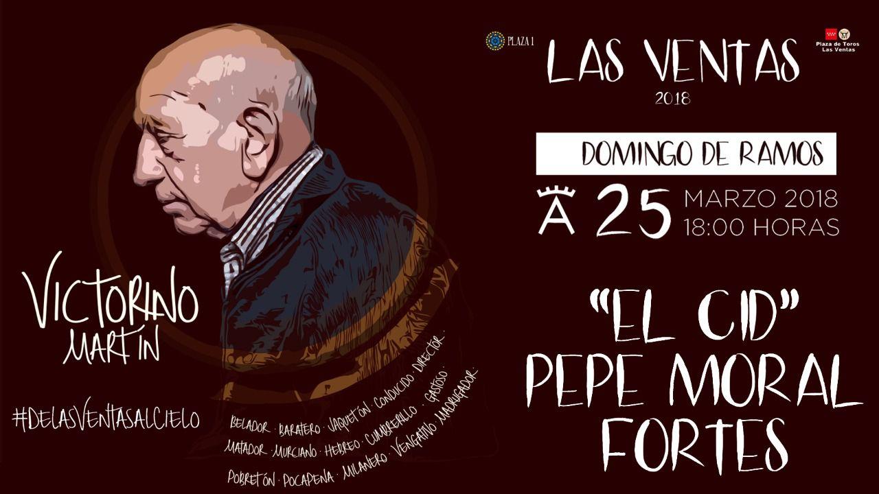 Victorino Martín, el ganadero número uno, abre la temporada en la plaza número uno (vídeo)