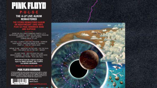 Los míticos Pink Floyd reeditan en vinilo 'PULSE', su álbum de directo de 1995