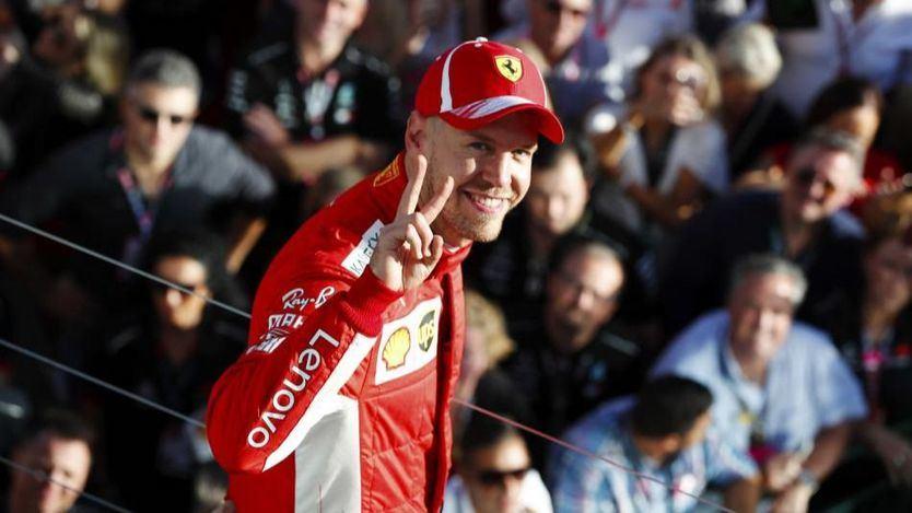 Vettel logra la primera victoria del mundial y Alonso termina quinto en Australia