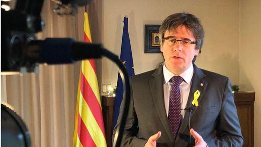 Reacciones tras la detención de Puigdemont: de la exigencia de libertad a la celebración