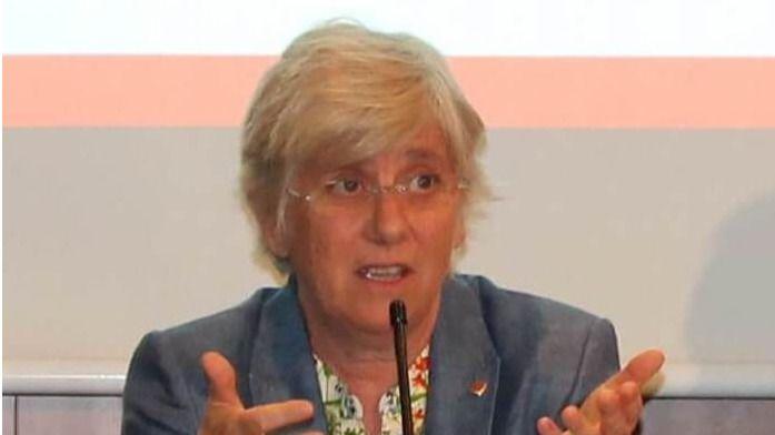 Ex consejera catalana de Educación, Clara Ponsatí