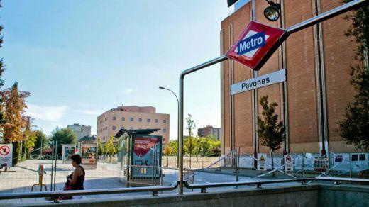 Parada de Metro de Pavones