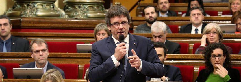 El Parlament debatirá este miércoles sobre la legitimidad de Puigdemont y los políticos presos