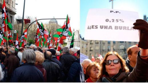 Los pensionistas mantienen su pulso al Gobierno: el 15 de abril volverán a las calles
