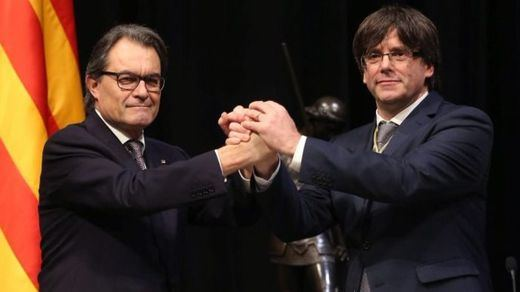 Mas entierra políticamente a Puigdemont para pasar página en Cataluña