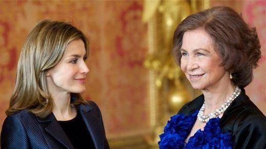 Alta tensión entre la reina Letizia y la reina Sofía a costa de una fotografía