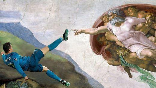 Los mejores memes del gol de Cristiano Ronaldo de chilena