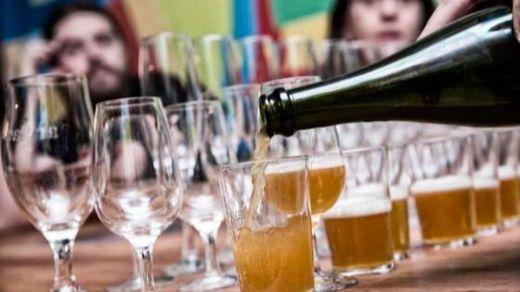 400 cervezas artesanas se dan cita en Lavapiés
