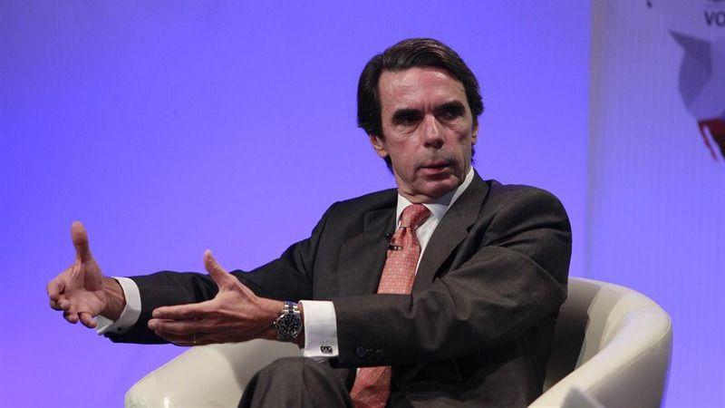 Aznar: 'El objetivo expansionista del independentismo catalán apunta a la Comunidad Valenciana'