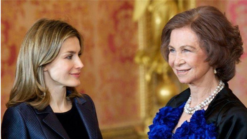 El falso titular de 'Hola' sobre el rifirrafe entre las reinas Letizia y Sofía