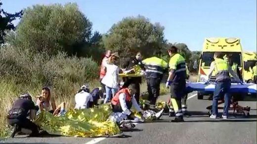Fallece uno de los ciclistas atropellados en Mallorca por la conductora del Porsche que dio positivo en drogas