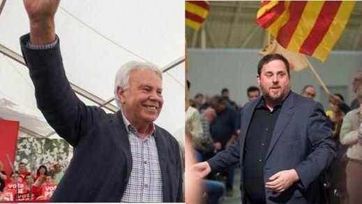 El mensaje de Oriol Junqueras a Felipe González, en 'Salvados'