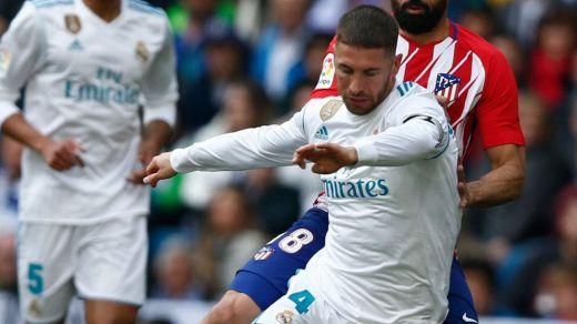 Tablas en un derbi madrileño descafeinado que se acabó cuando Ronaldo tomó descanso en el minuto 63