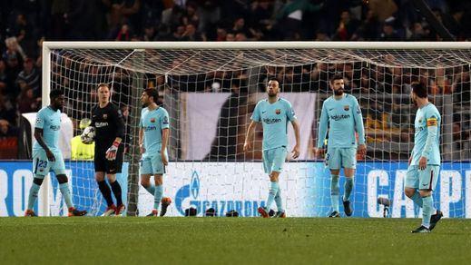 Roma no admite cobardes: el Barça cae en Champions víctima de su actitud (3-0)