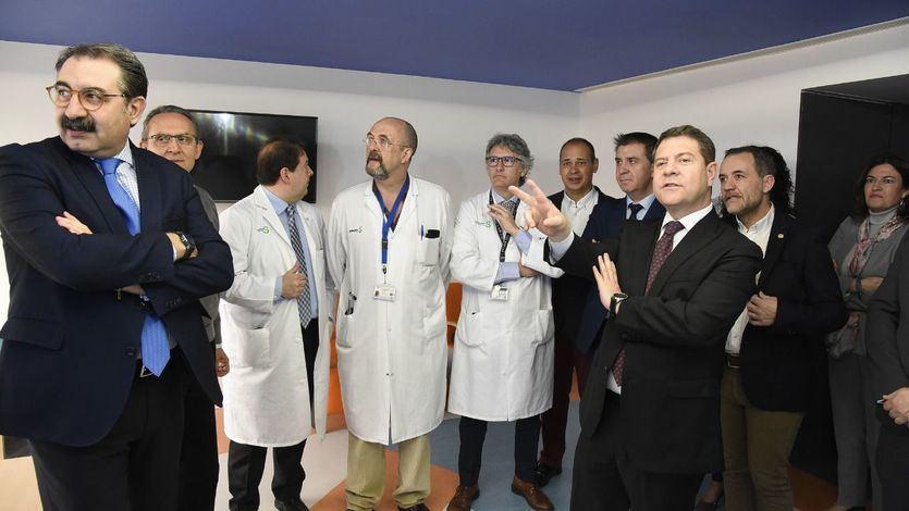 García-Page en el Hospital General de Albacete