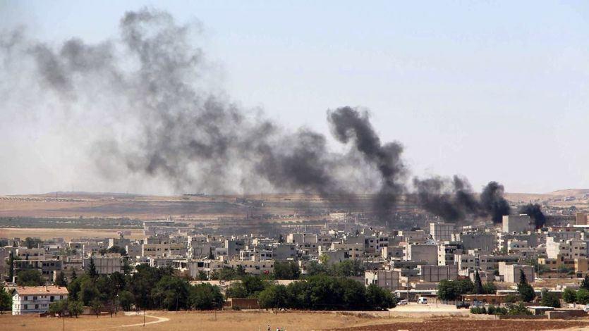 EEUU, Francia y Reino Unido atacan Siria