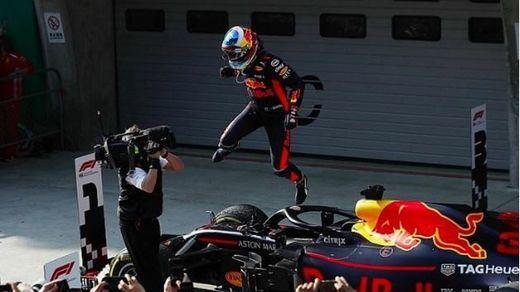 Ricciardo da la sorpresa en el GP de China y Alonso termina séptimo