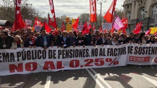 Los pensionistas, dispuestos a seguir luchando en las calles