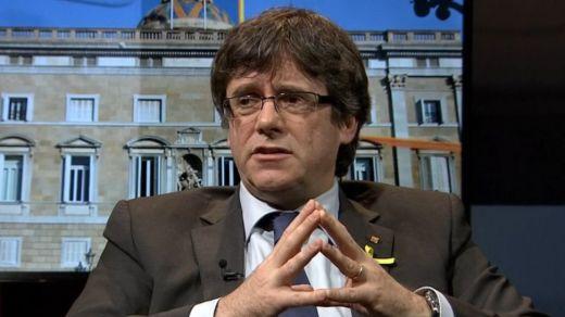 Puigdemont pide evitar elecciones y propone